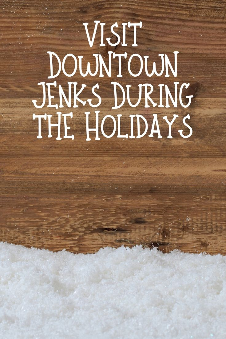 Downtown Jenks is always charming to visit but during the holiday season, the festive decorations make it a beautiful town to stroll through.